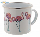 Enamel mug for sublimation with own logo printing