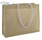 Jute shopping / beach bag