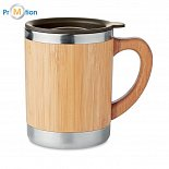 thermo mug made of bamboo
