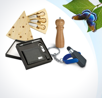 offers and attractions from promotional gifts with their own logo