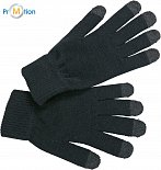 Myrtle Beach | MB 7949 - Knitted gloves for touch screen advertising