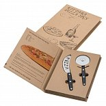 gift set of pizza cutting knives