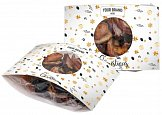 Christmas dried fruit with print logo