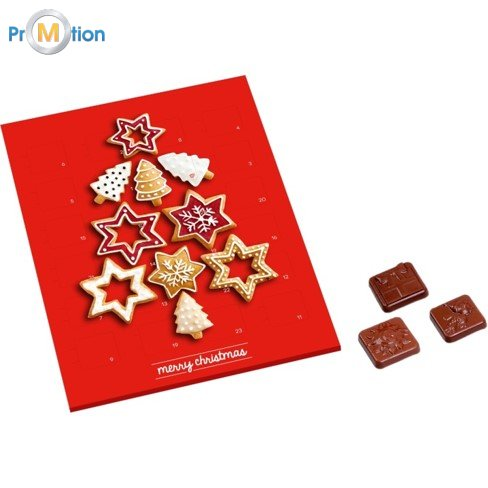 menny kalendar 0279 MINI Advent calendar with chocolate | MPromotion menny kalendar