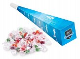 trumpet for fans with candy with logo printing